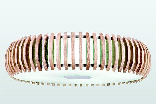 Потолочный светильник накладной круглый Sibua 1713-4C